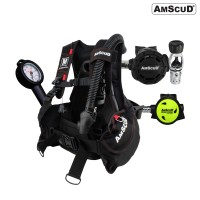 Paket Scuba AmScuD RAPTOR V2.0 UNO -Made In Italy-