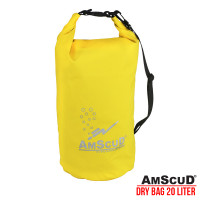 AMSCUD BAG DRY PACK 20L W/ LINE - YELLOW