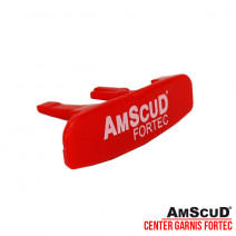 AMSCUD CENTER GARNISH RED