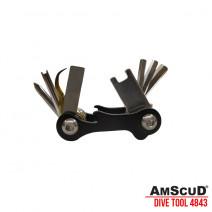AmScuD 4843 Mini Multi Tool 8 in 1