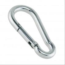 STAINLESS STEEL SNAP CARABINER 6.1CM
