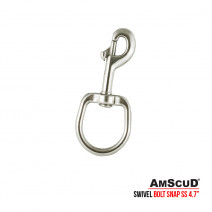 Stainless Steel Bolt Snap Swivel-Eye Large 114 mm (4.7 in)