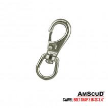 Stainless Steel Swivel Bolt Snap 3.4′ 99/6331