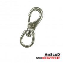 Stainless Steel Swivel Bolt Snap 4.6″ 99/6333