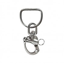 SCUBA HIGHLAND 3.5 SS SNAP SHACKLE WELDED D-RING