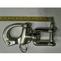 SCUBA HIGHLAND 5 SS SNAP SHACKLE