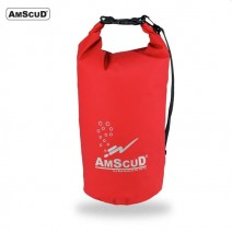 AMSCUD BAG DRY PACK 20L W/ LINE BLACK