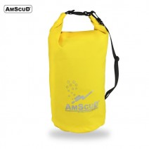 AMSCUD BAG DRY PACK 20L W/ LINE YELLOW