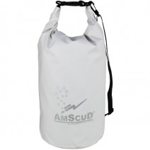 AMSCUD BAG DRY PACK 20L W/LINE WHITE