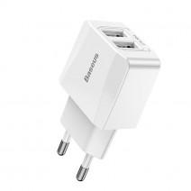 BASEUS DUPLO USB QUICK CHARGER 2.1A