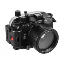 SeaGlove CANON G7X MARK II Underwater Housing W/ SURE-LOCK + WET-ALERT