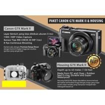 CAMERA CANON POWERSHOT G7X MARK II + UW HOUSING SeaGlove®