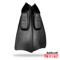 AMSCUD FIN FULL FOOT FAST FOR DIVING/SNORKELING