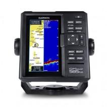 GPS GARMIN 580/585 PLUS WITH ANNTENA & TRANSDUCER