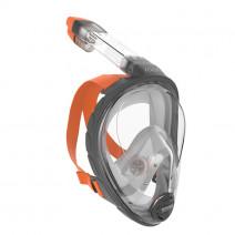 Ocean Reef ARIA Full Face Snorkling Mask GREY-ORANGE