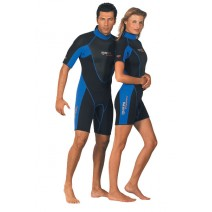 WETSUIT SHORTY MARES TROPIC BLUE 2.5MM