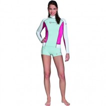 RASHGUARD MARES LONG SLEEVE SHE DIVE - PINK
