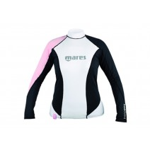 RASHGUARD MARES LONG SLEEVE LOOSE FIT - PINK