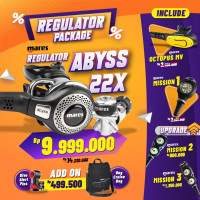 DEAL PACKAGE REGULATOR MARES ABYSS 22X