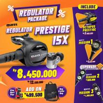 DEAL PACKAGE REGULATOR MARES PRESTIGE 15X ( INCLUDE OCTOPUS + SPG  )