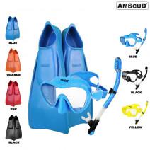 Paket Snorkling AmScuD Full Foot Fast X-Flex