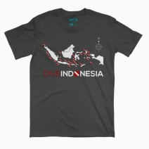 T-SHIRT DIVE INDONESIA GREY