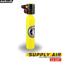 AmScuD Pony Bottle 3 Cuft Scuba Tank Emergency Supply Backup Tank 994524 – Your Next Breath